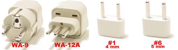 Italy Plug Adapters E F L 1 Amp 6