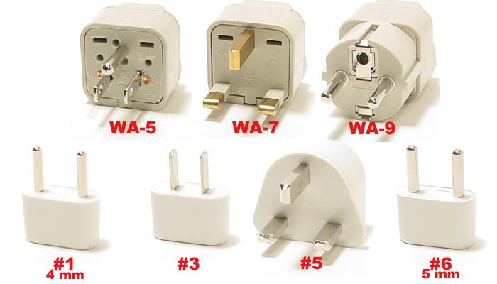 Viet nam plug adapters b g e f