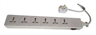 WES4.6D107 - 6 outlet