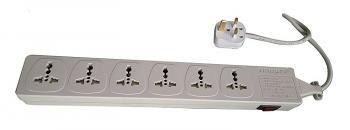 WES4.6D107 - 6 outlet