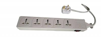 WES4.5D107 5 universal outlet Surge Protector Power Strip
