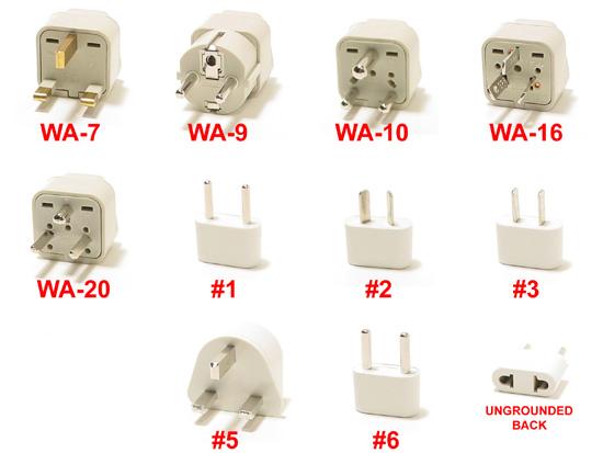 Asia Plug Adaptor Kit
