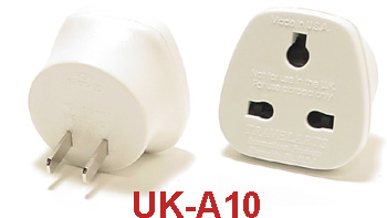 uk a10 ungrounded plug adapter. Black Bedroom Furniture Sets. Home Design Ideas